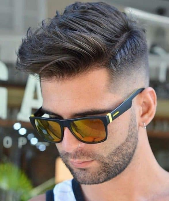 7 Men S Fade Haircuts For Powering Up Your Persona Menshaircutstyle