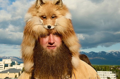 Alaskan wild man