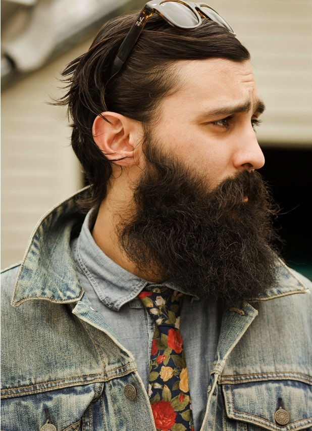 Beard With Healthy Look And Masculinity Growing