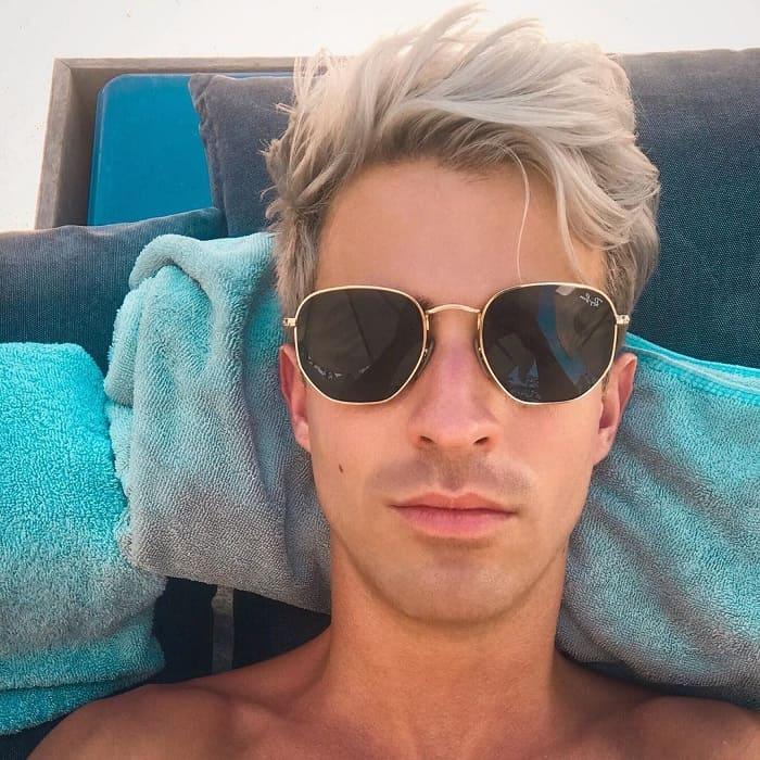 men's blonde hairstyles