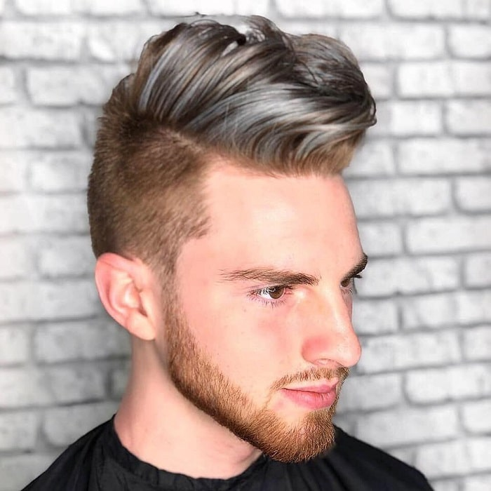 men's wavy blow out hair