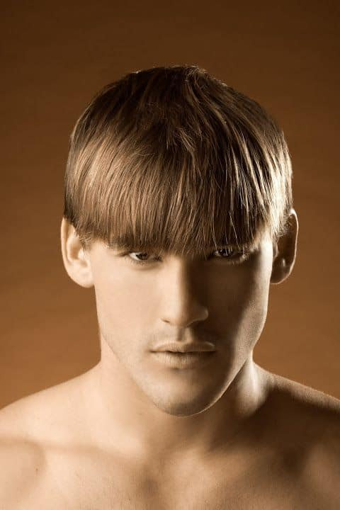 how to get rid of bowl cut look