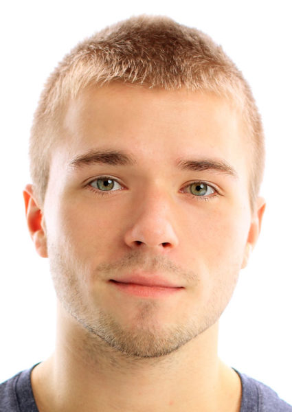 buzz cut hairstyle