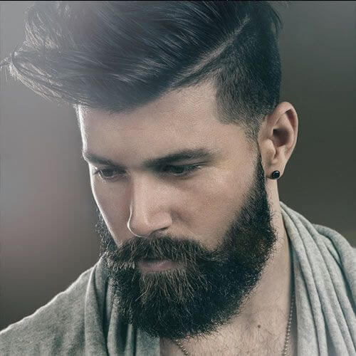 Cool Men S Hairstyles Hi Lo Fade With Modern Quiff Hairstyle