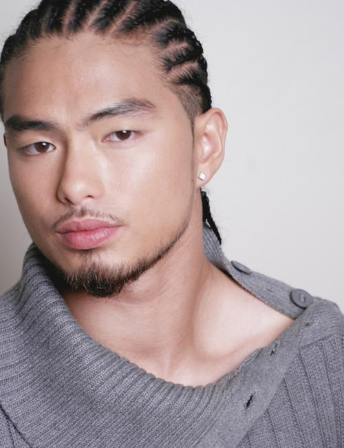 mens cornrows hairstyle
