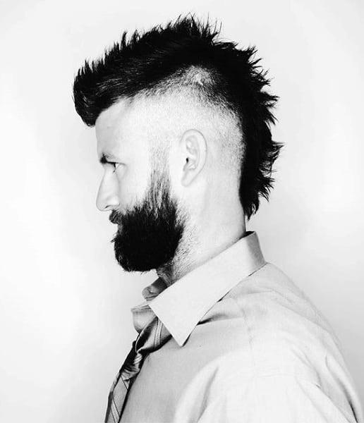 mens fade haircut