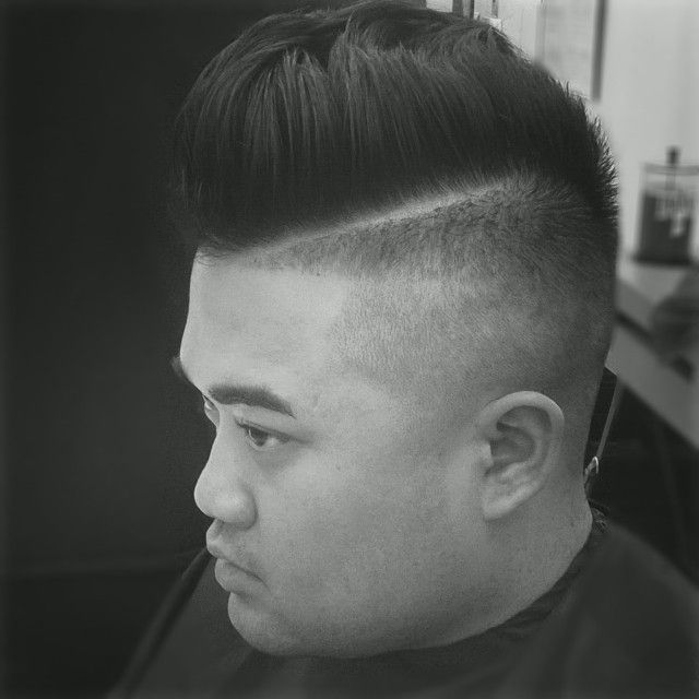 mens fade haircut