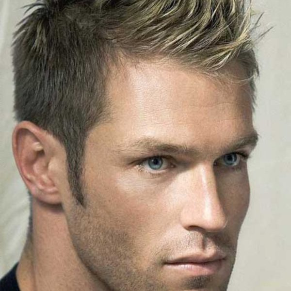 mens faux hawk hairstyle