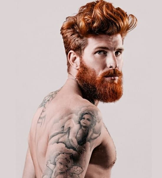 men with red hair