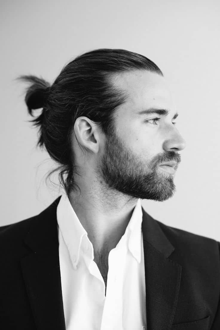 Man Bun Hairstyle Guide 75 Sexy Manly Ideas To Stand Out