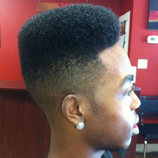 mens hi top haircut