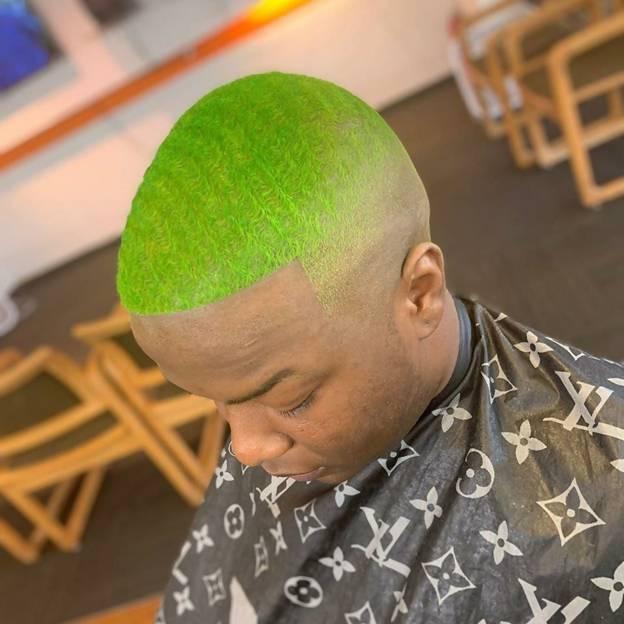 High Bald Fade Haircut for Men