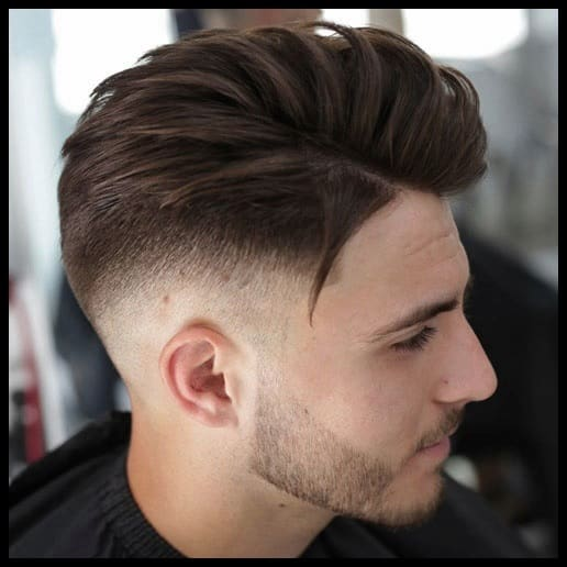 high top fade with undercut