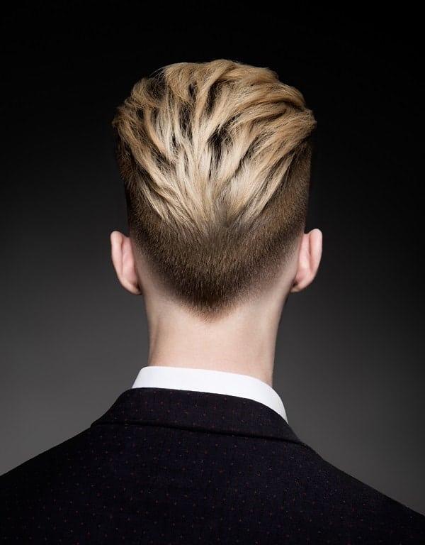 hot men haircut