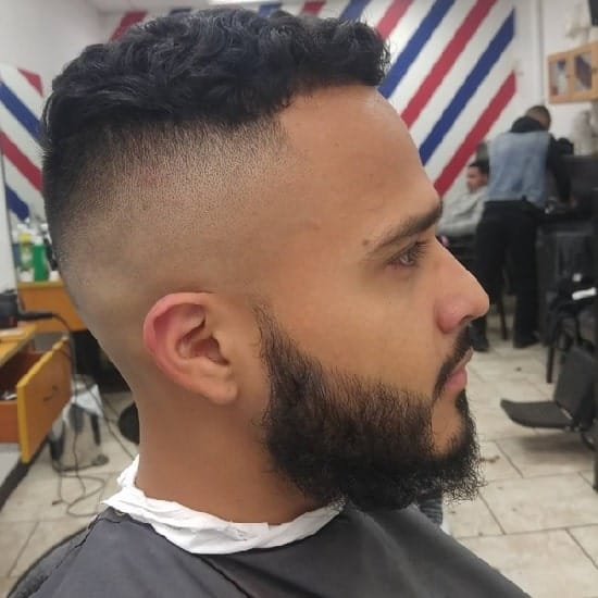 high and tight military cut for indian men