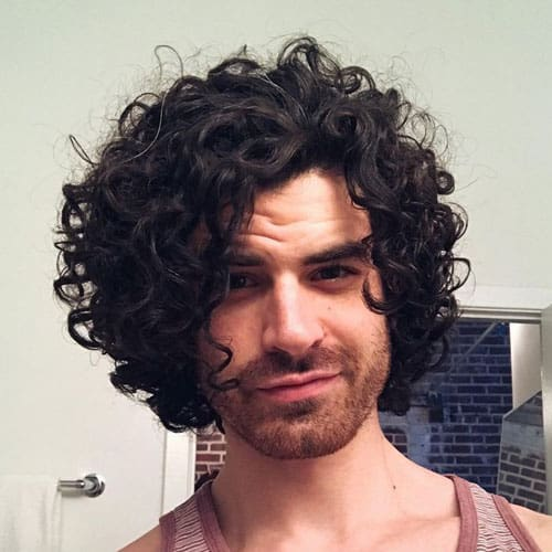 11 Of The Best Jewfro Hairstyles For Men 2019