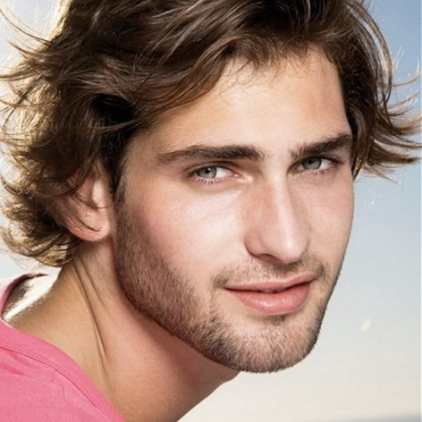 mens long hairstyle