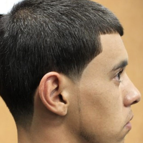 Mens Caesar Haircut