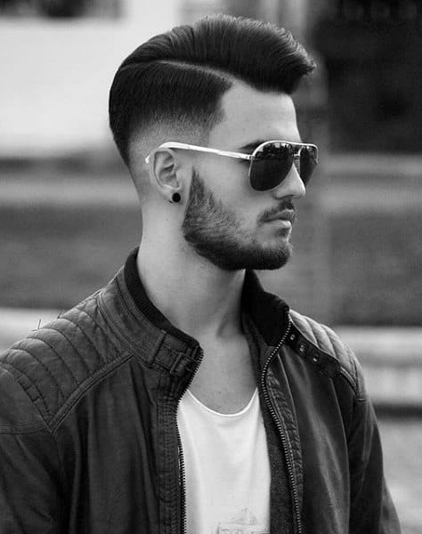 mohawk with fade