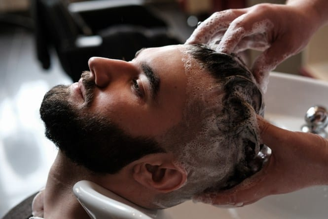 proper hair treatment for men