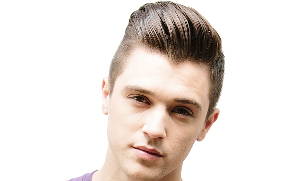 a guide to the modern pompadour hairstyle