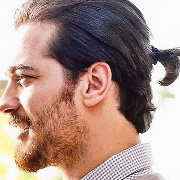 men's ponytail hairstyle