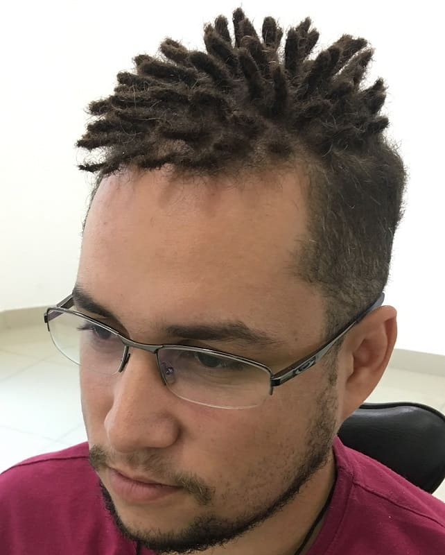 mini dread styles for men