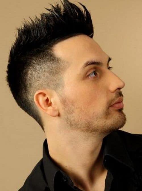 mens mohawk haircut
