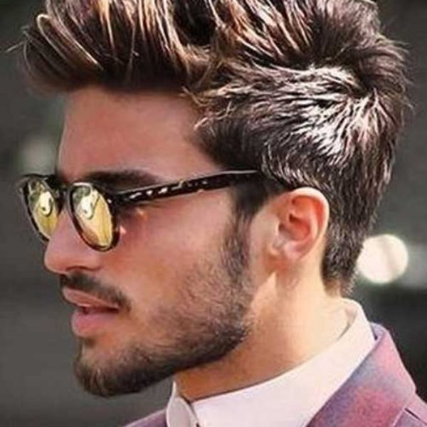mens mohawk haircut
