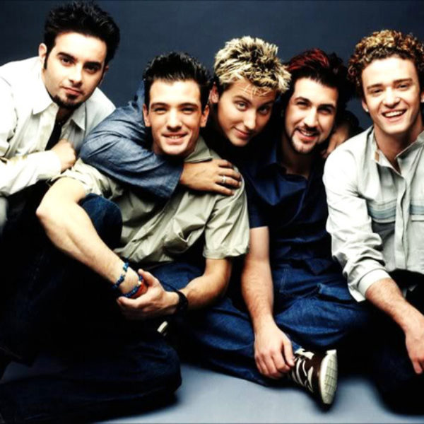 nsync boy band hairstyle