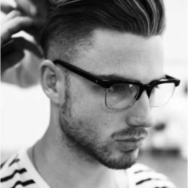 mens pompadour haircut