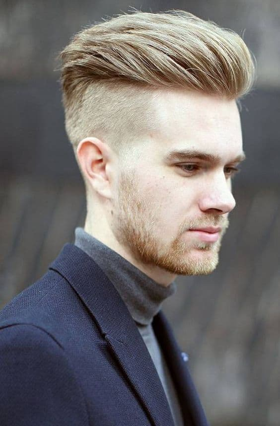 mens pompadour hairstyle