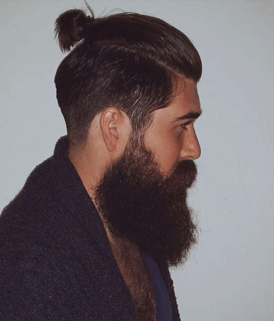 mens ponytail hairstyle