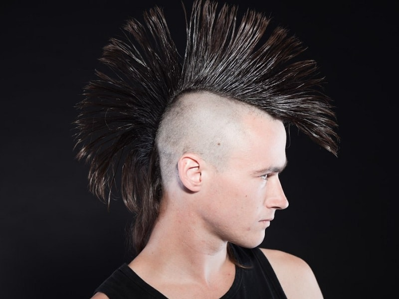 Fabulous 15 Atypical Punk Hairstyles For Men Menshaircutstyle Natural Hairstyles Runnerswayorg