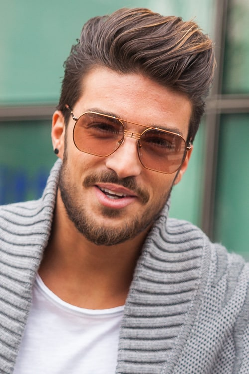 Check Out Examples Of Mens Quiff Hairstyle Below: