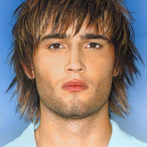 mens shaggy haircut