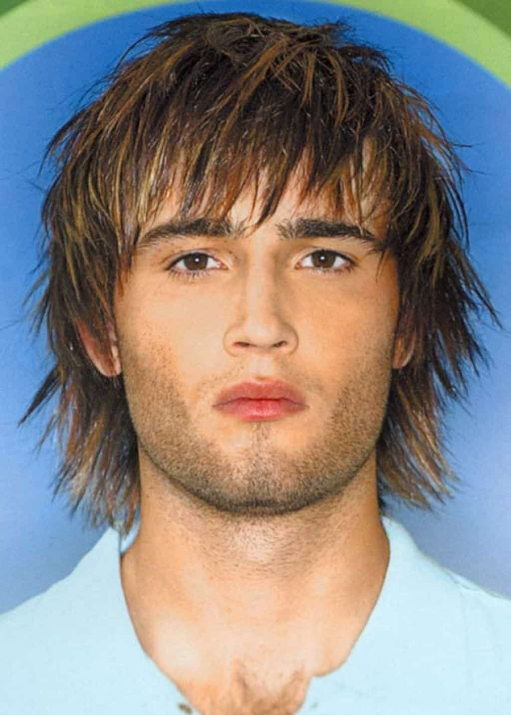 mens shaggy haircut
