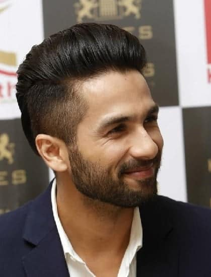 pompadour for indian men with short hair