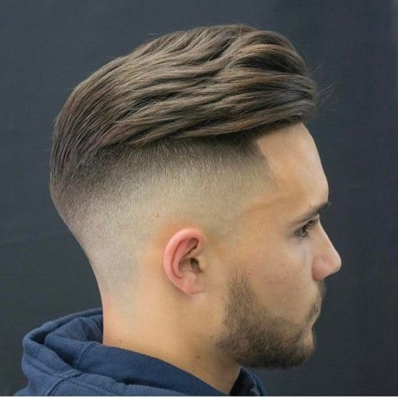 short sides long top hairstyle men