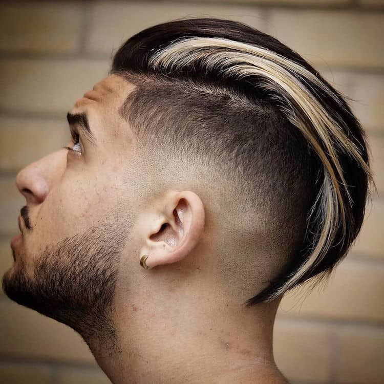 mens slick back hairstyle