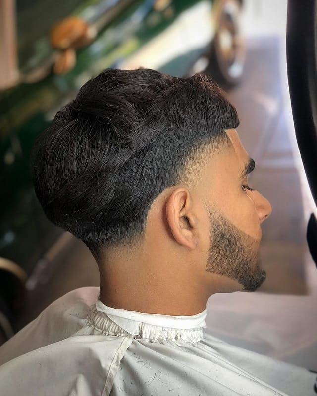 temple fade haircuts for men