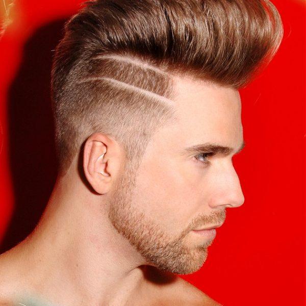 Mens Tramlines Haircut
